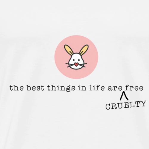 Cruelty free - Männer Premium T-Shirt