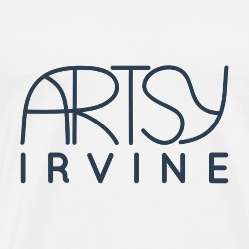 ArtsyIrvine Logo - Men's Premium T-Shirt