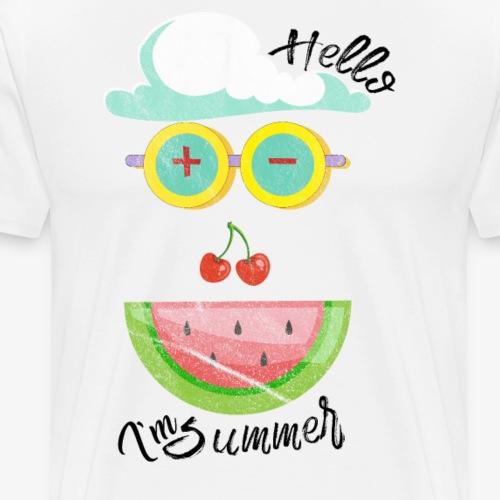 Hello, I'm Summer - Men's Premium T-Shirt