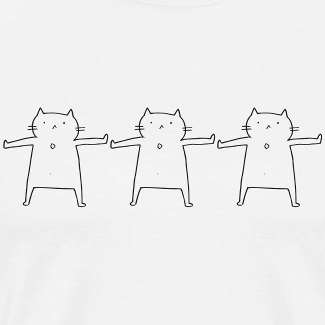 Performing Cat
