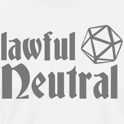 lawful neutral - Men's Premium T-Shirt