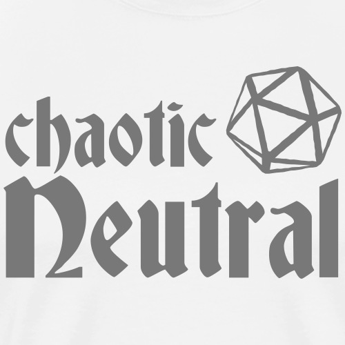 chaotic neutral - Men's Premium T-Shirt