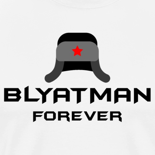 Blyatman - Premium T-skjorte for menn