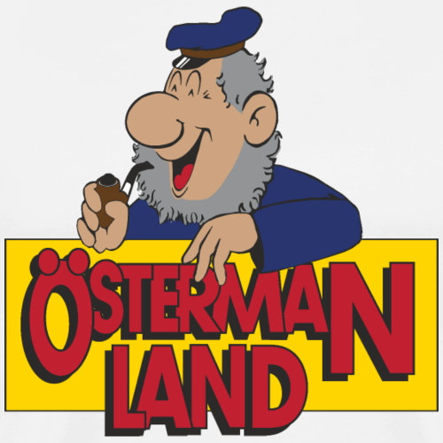 Östermanland - Premium-T-shirt herr