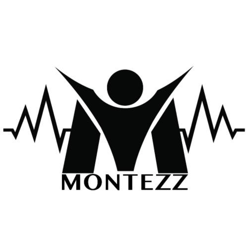 RM - Heart Beat Logo - Black - Men's Premium T-Shirt