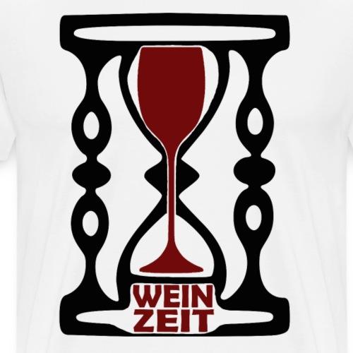 Weinzeit - Männer Premium T-Shirt