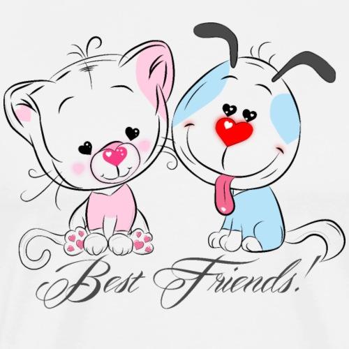 Best Friends! - T-shirt Premium Homme