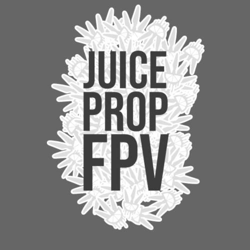 JuicePropFPV LOGO Pile Text Only - Männer Premium T-Shirt