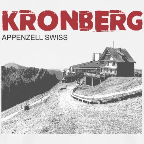 Schweizer Berge T-Shirt Appenzell Kronberg - Männer Premium T-Shirt