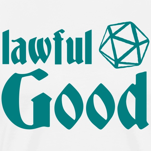 lawful good - Men's Premium T-Shirt
