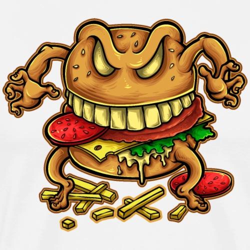 Der Fluch des Burgers - Männer Premium T-Shirt