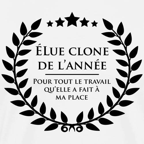 Elue clone de l'annee - T-shirt Premium Homme