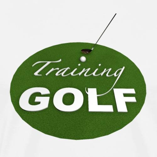 Training Golf - T-shirt Premium Homme