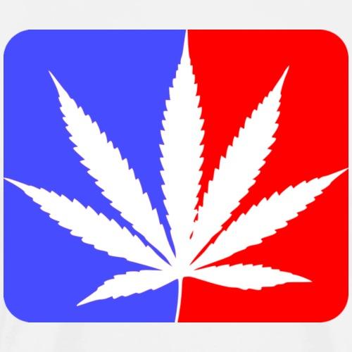 Cannabis basket LOGO - T-shirt Premium Homme