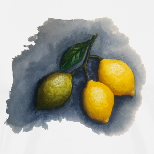 lemons - Men's Premium T-Shirt