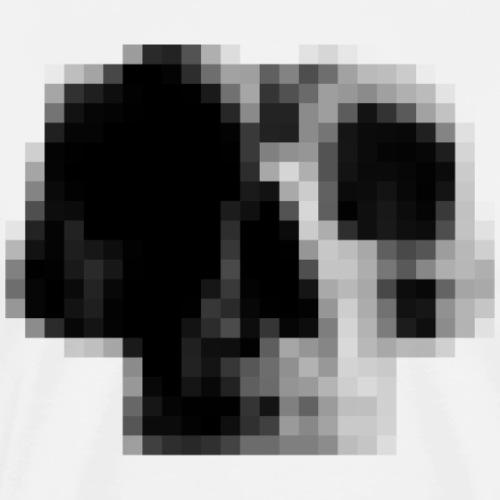 Pixel Squelette - T-shirt Premium Homme