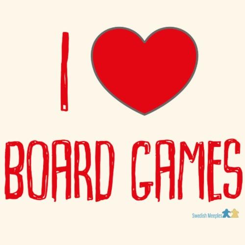 ILoveBoardgamesRed - Premium-T-shirt herr