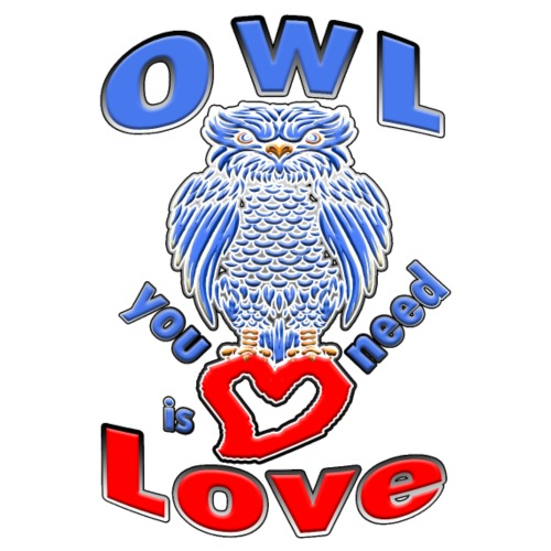 OWL you need is Love - Männer Premium T-Shirt