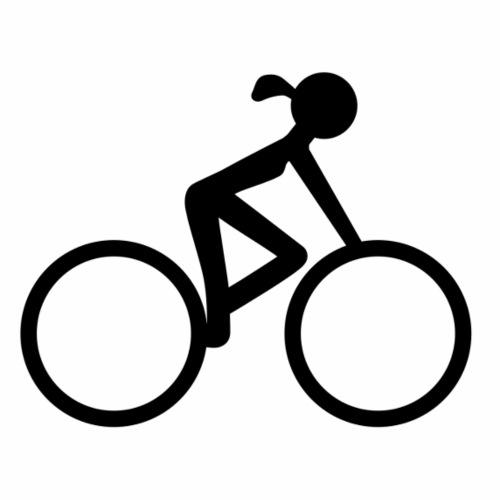 Bicycle girl - Men's Premium T-Shirt