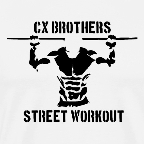 LOGO STREET WORKOUT / CALISTHENICS - T-shirt Premium Homme