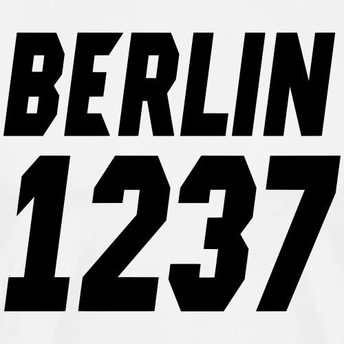 Aufschrift Berlin 1237 Modern