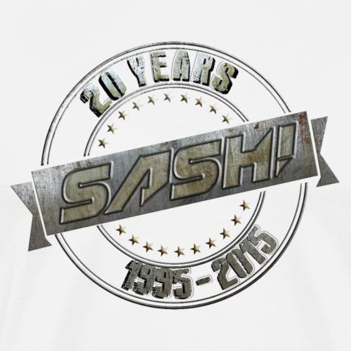 SASH! *** 20 Years *** - Men's Premium T-Shirt