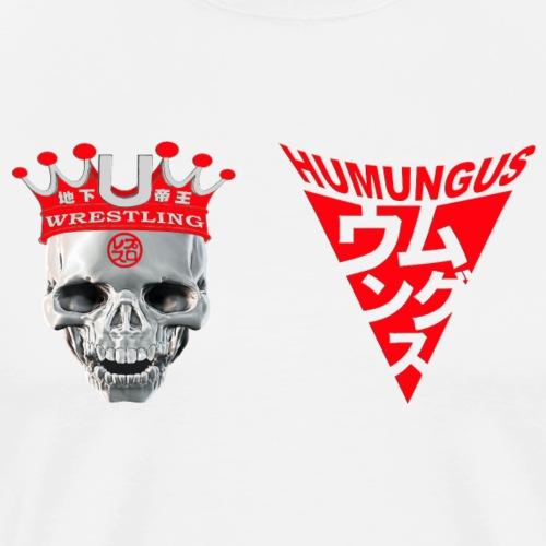 skull krone humungus3 png - Männer Premium T-Shirt