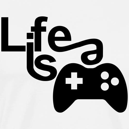 Life is a Game 2018 - Männer Premium T-Shirt