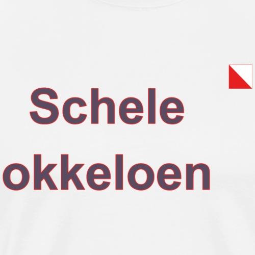 Schele okkeloen def b - Mannen Premium T-shirt