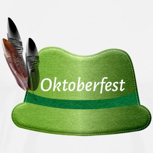 Oktoberfest Filzhut - Männer Premium T-Shirt