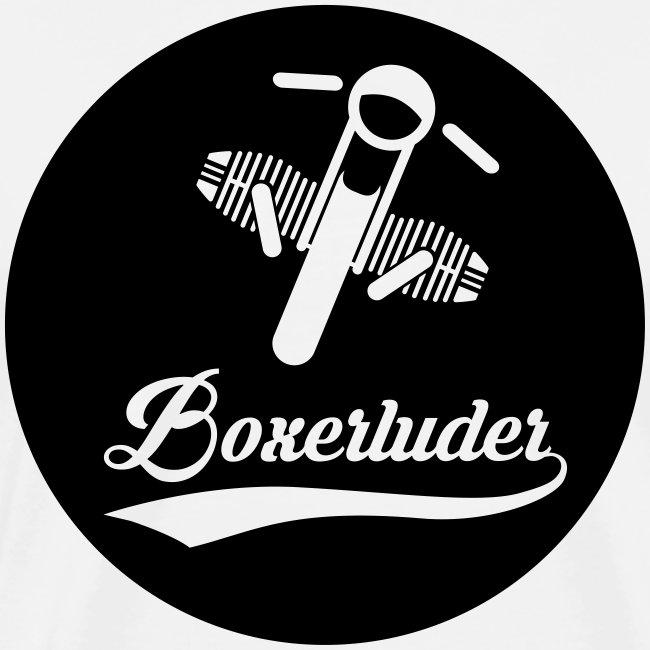 "Motorrad Fahrer Shirt ""Boxerluder"""