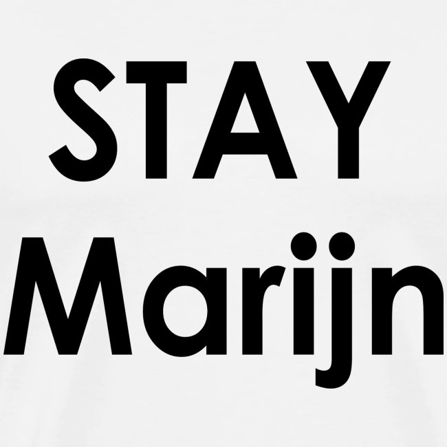 stay marijn black