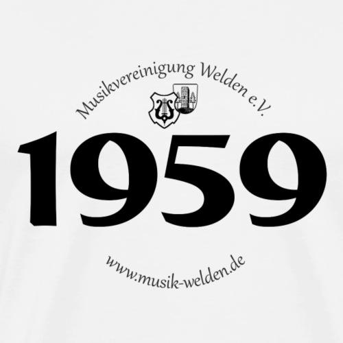 MVW 1959 sw - Männer Premium T-Shirt