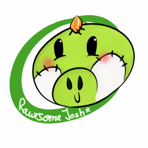 Rawrsome Josh Logo - Männer Premium T-Shirt