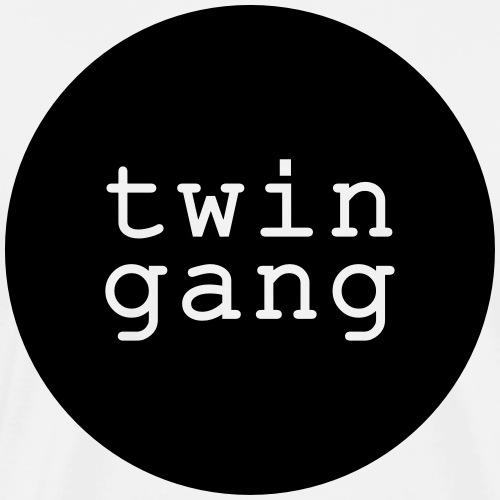 Shirt/Body: Twin Gang - Männer Premium T-Shirt