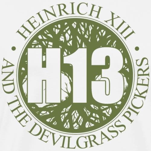 H13 Root vorne - Männer Premium T-Shirt