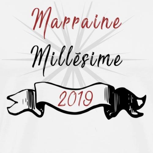 Marraine Millésime 2019 - T-shirt Premium Homme