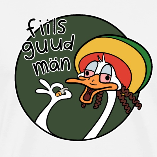 fiils guud män - Miesten premium t-paita