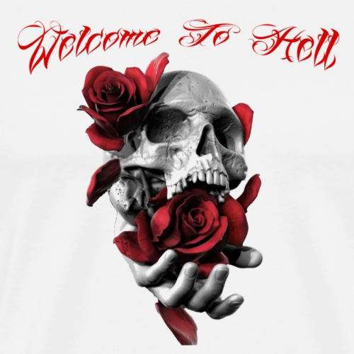 Skull Roses - Welcome to hell