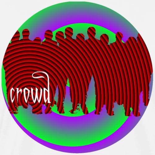 crowd - Männer Premium T-Shirt