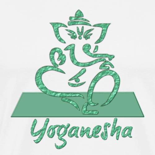 YoGanesha gruen 3D
