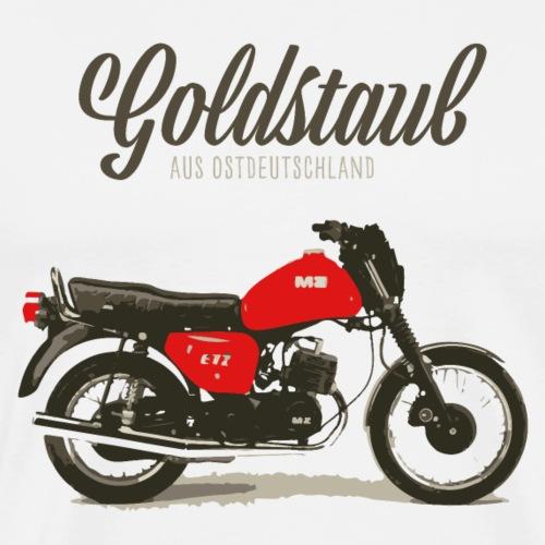 Goldstaub aus Ostdeutschland MZ ETZ 150 - Männer Premium T-Shirt