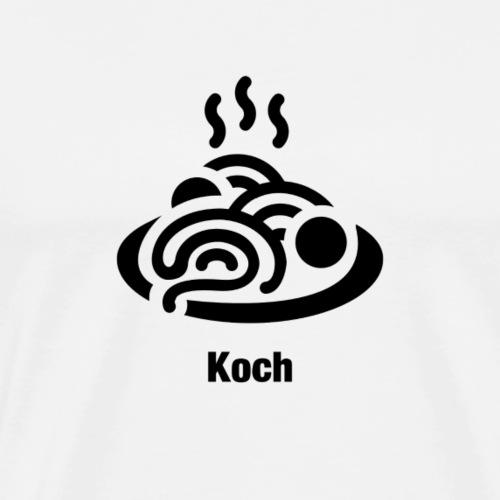 Koch - Männer Premium T-Shirt