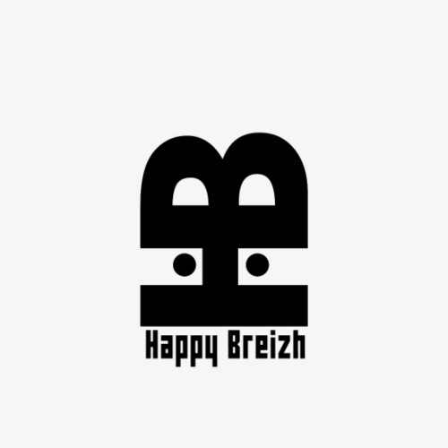 happy breizh logo - T-shirt Premium Homme