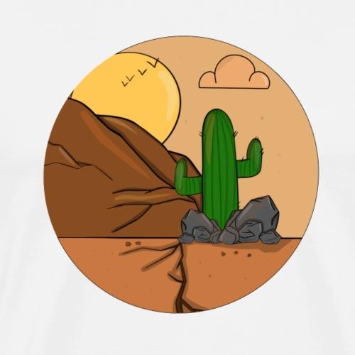 Le desert de Cactus