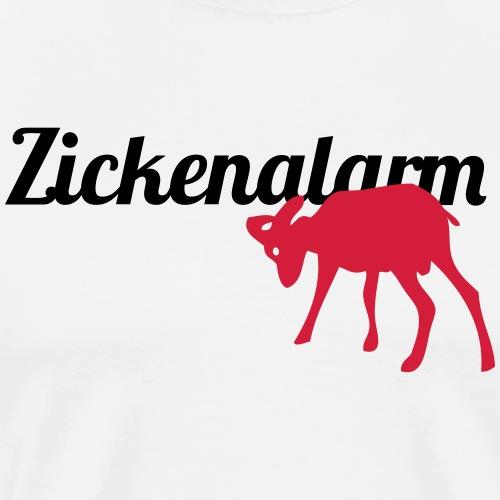 Zickenalarm 2 - Männer Premium T-Shirt