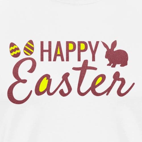 Happy Easter   Gute Geschenkidee - Männer Premium T-Shirt