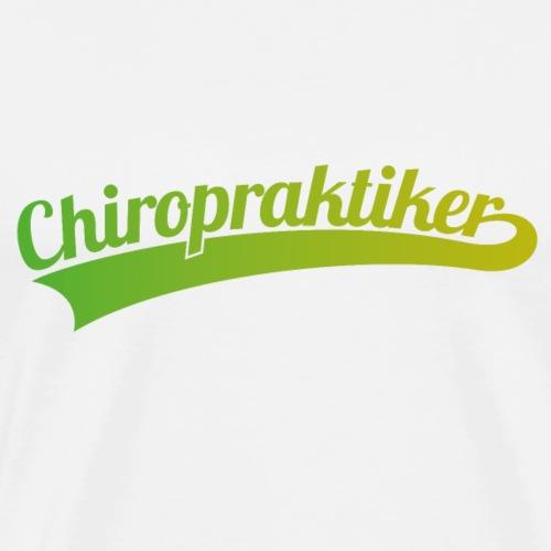Chiropraktiker (DR12) - Männer Premium T-Shirt