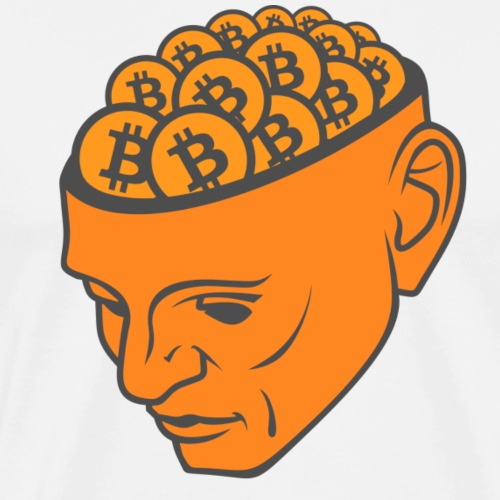 BTC Head - Men's Premium T-Shirt