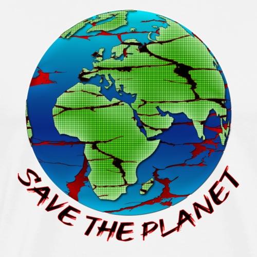 Umweltschutz - Save the Planet - Männer Premium T-Shirt